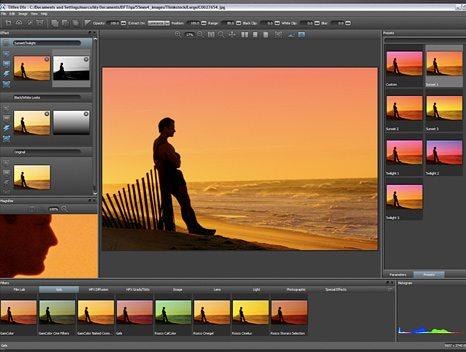De forskellige typer foto filtre