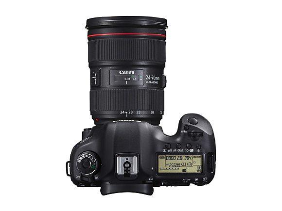 Canon EOS 5D Mark III foroven