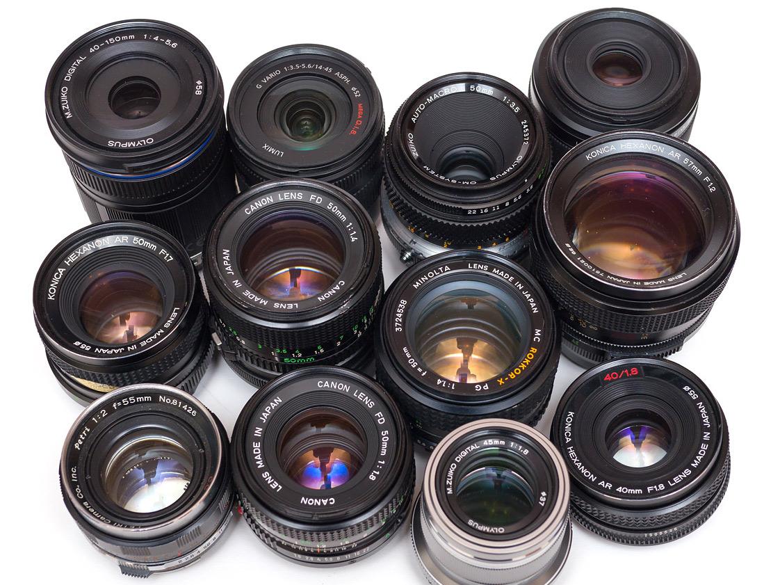 Hvilke 3 objektiver har du brug for fotografering?