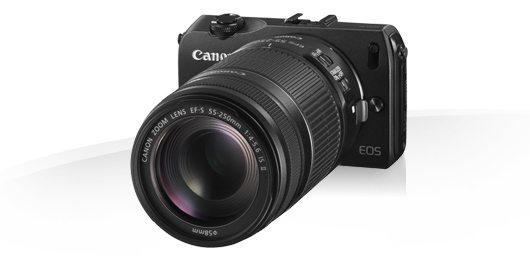 Canon EOS M – Et stort kamera i en lille pakke