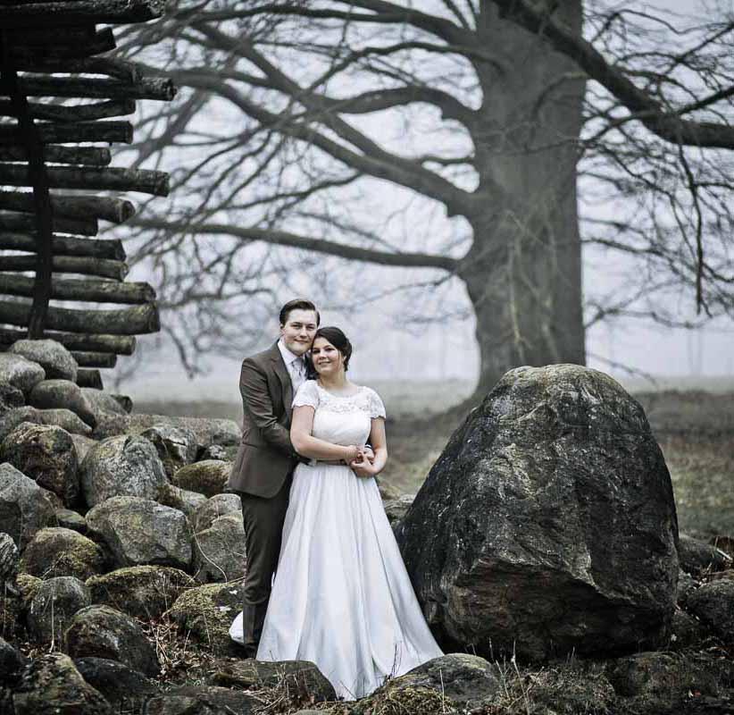 Bryllupsfotograf i Ballerup