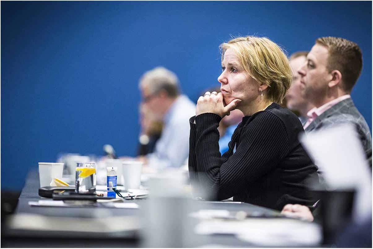 billeder fra konference i Østjylland