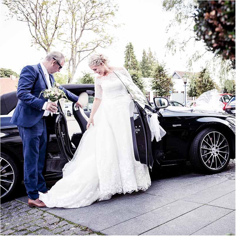 utraditionelle brudekjoler Greve