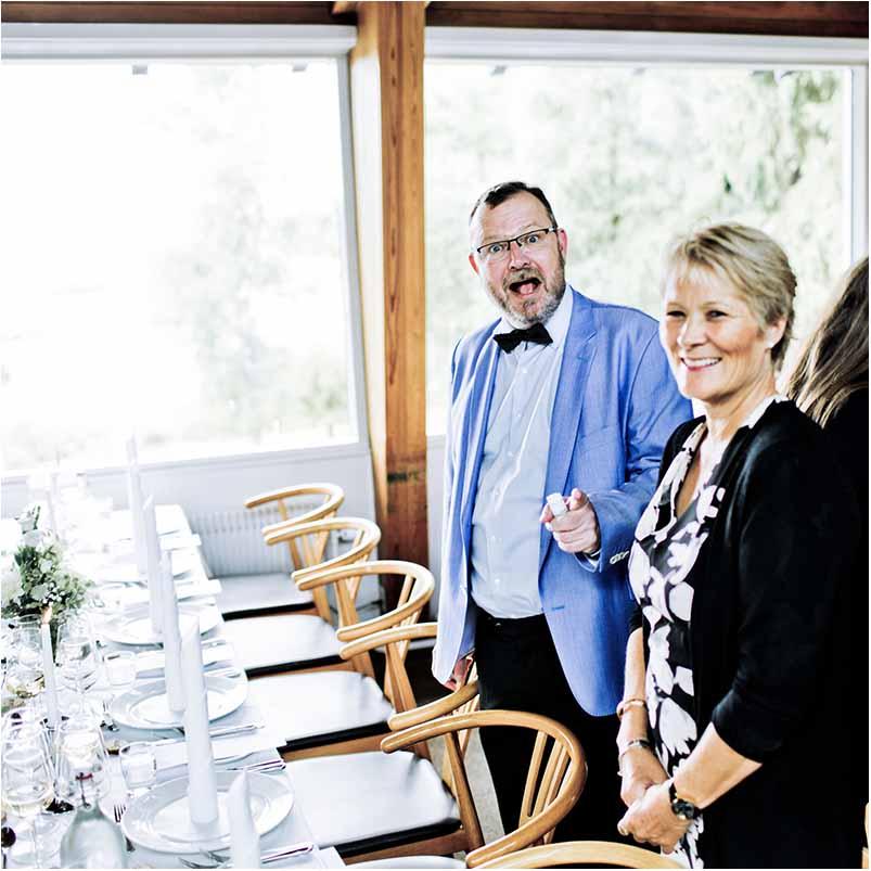 tale til bryllup i Greve