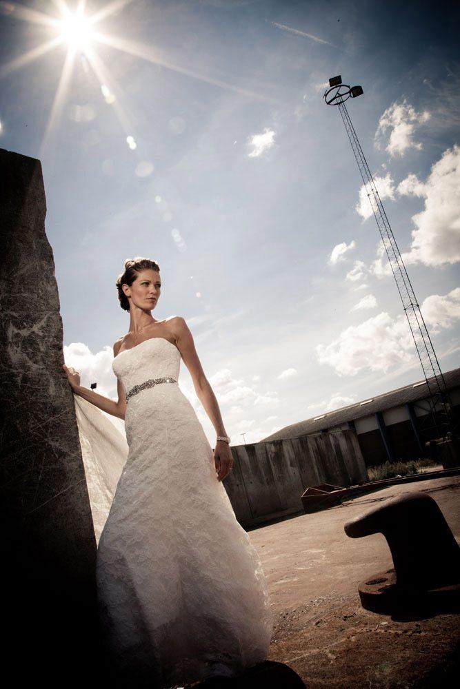 Bryllupsfoto i Østjylland
