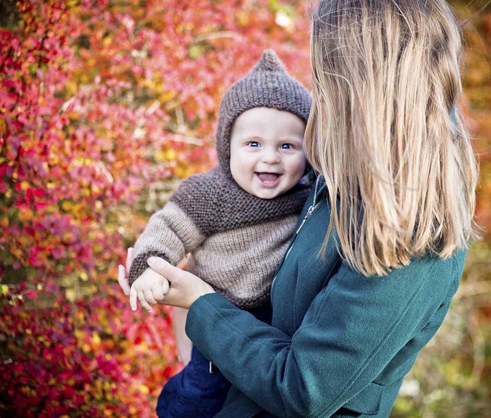 familiefotografering i Østjylland