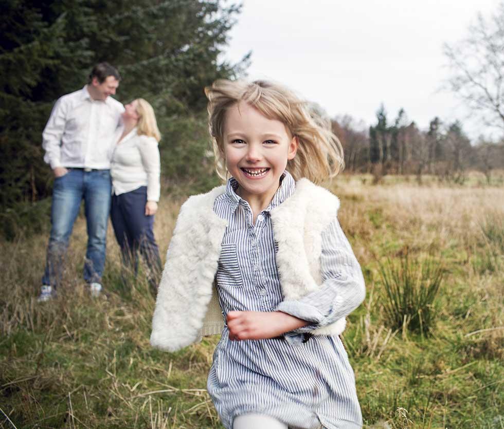 Familieportræt Østjylland