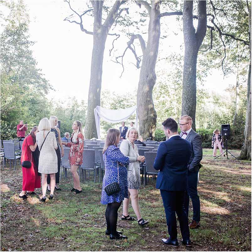 bryllup på sjælland i Greve